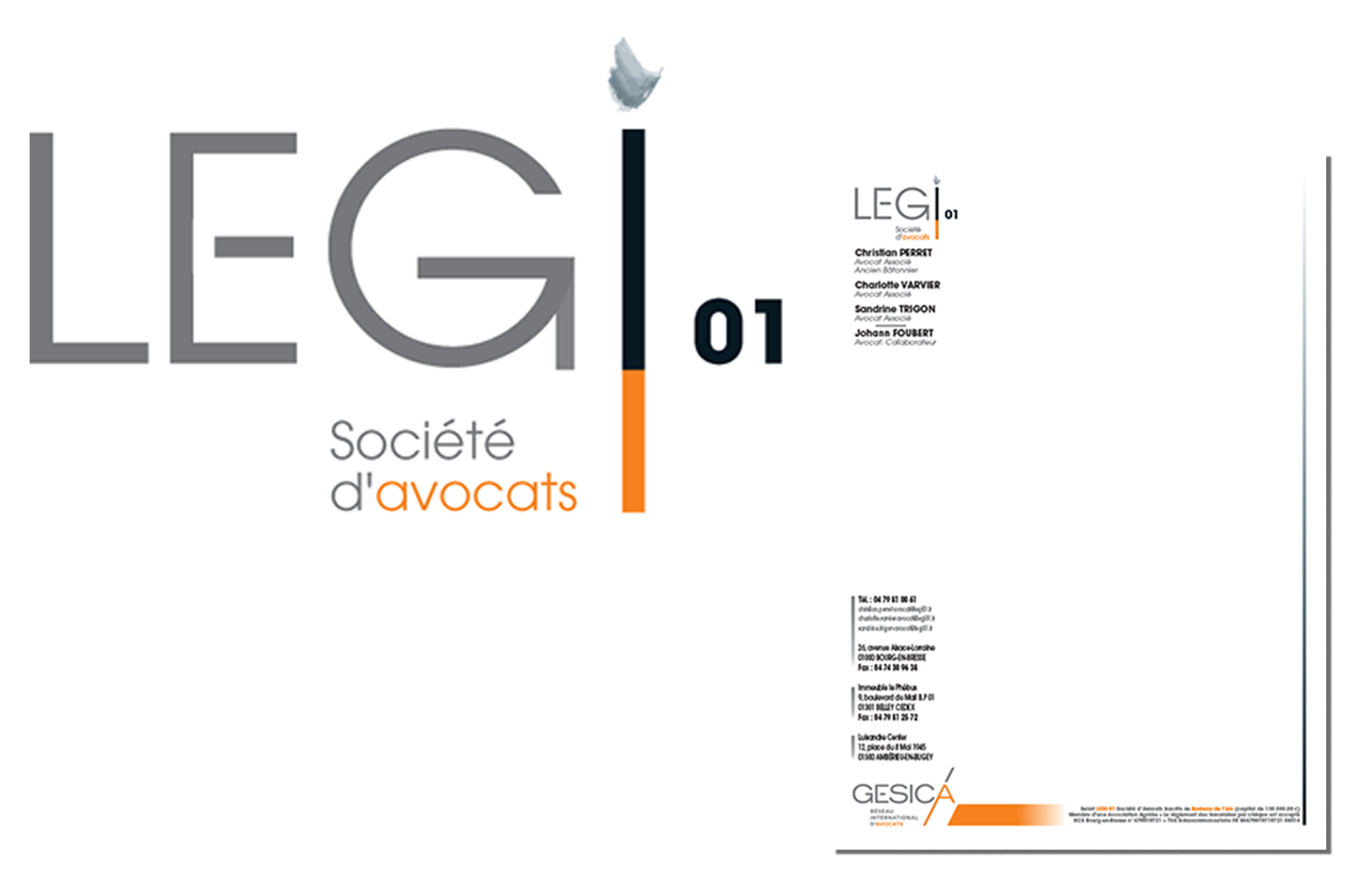 Identité Visuelle pour le LEGI 01