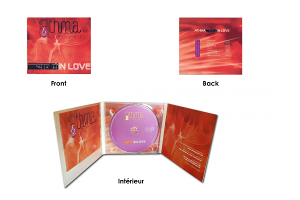 Digipack ATHMA-IN LOVE